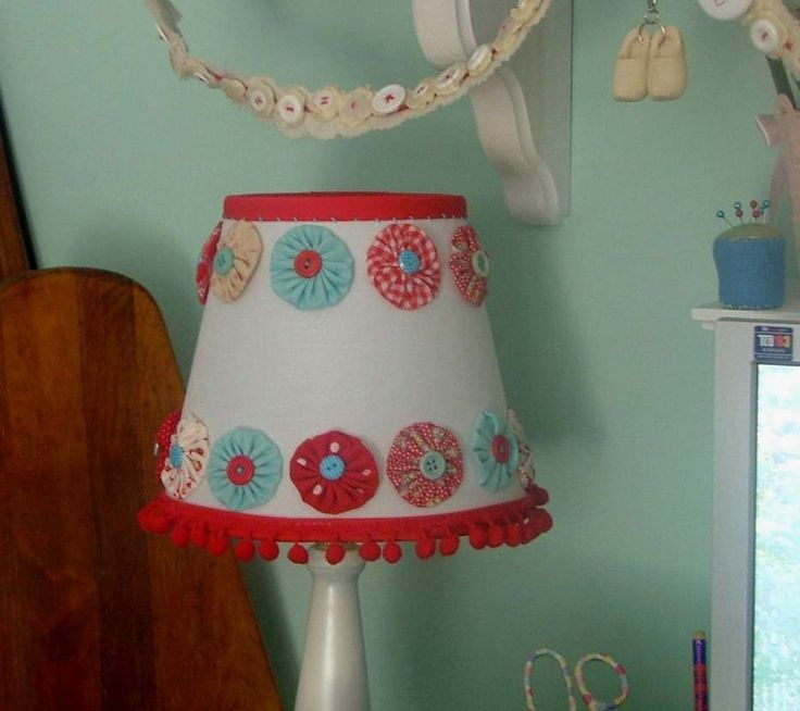 Whimsical lamp shade by creative little daisy today 39 s creative blog daily pinterest - Creative lamp shades ...