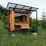 Beautiful outdoor studio