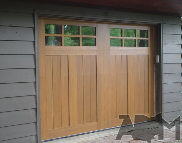 Pin by clopay garage doors and entry doors on before and for Clopay wood garage doors