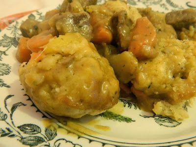 ... Keeping Hearts: Cooking Update - Beef Stew and Cheesy Herb Dumplings