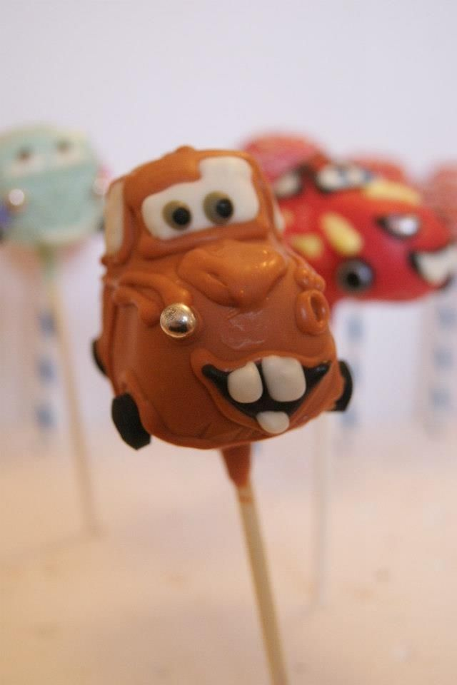 Cars Tow Mater Cake