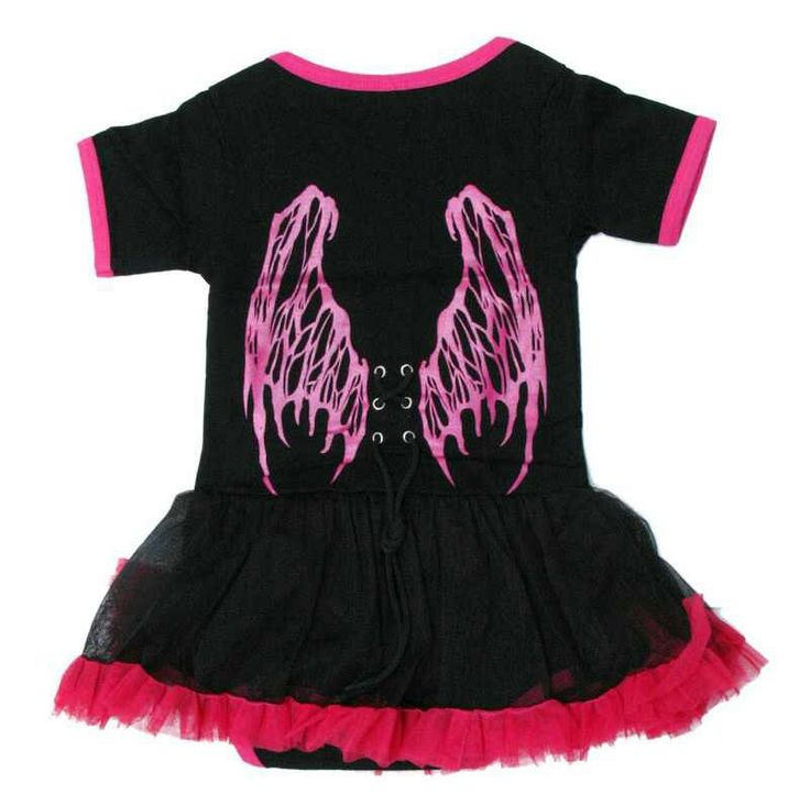 Gothic Baby Clothes Girls