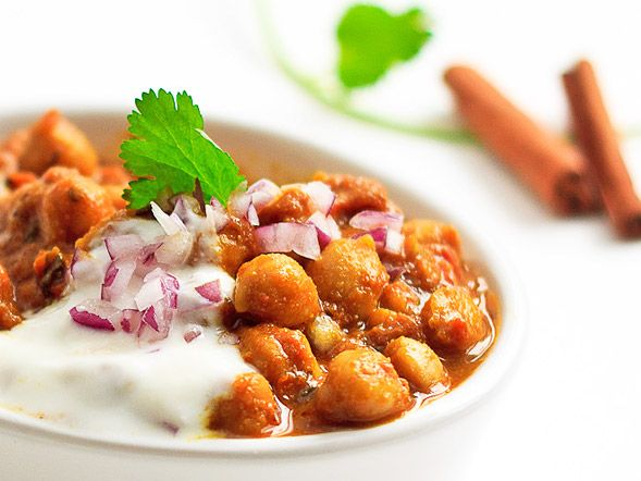 chickpea curry mango powder yogurt another option for chickpea pic ...
