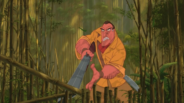 *CLAYTON ~ Tarzan, 1999   Disney   Pinterest