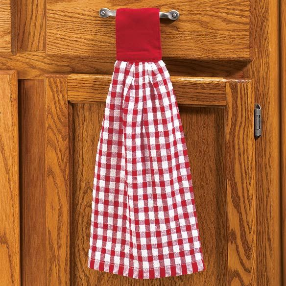 Hanging Kitchen Hand Towels - View 1