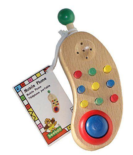 Puppenwagen Holz Ab 12 Monate ~ Mobiltelefon Telefon Handy für's Baby ca 12 cm  ab 12 Monate