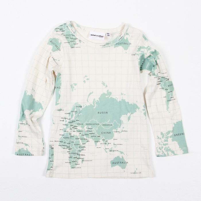mini ROdini WoRLd map T shirT Maps Borders Globes Pinterest