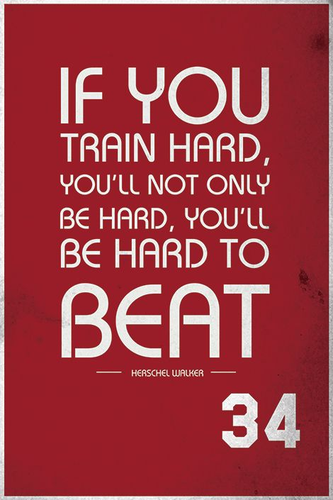 Quote by Herschel Walker. Check out quotes by famous athletes in.