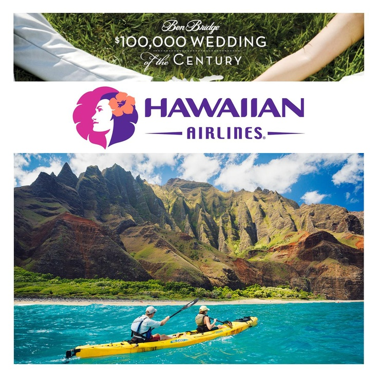 FINAL WEEK to register for the $100,000 #WeddingOfTheCentury #Sweepstakes for your chance to win a dream wedding & @HawaiianAirlines honeymoon package! Enter Today on #Facebook! #EnterToWin