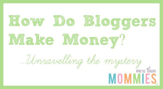 bloggers earn money