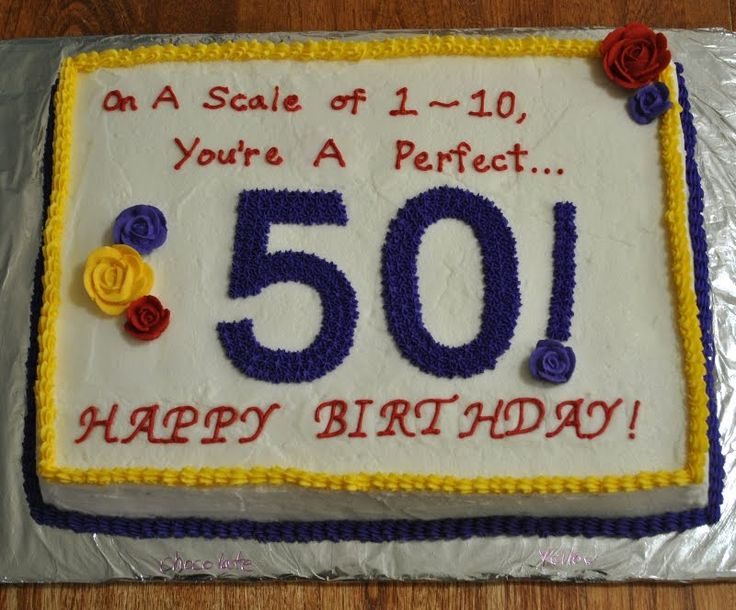 Pin by nicole on let 39 s make cake 39 s purty pinterest for 50th birthday decoration ideas for women