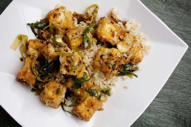 Black Pepper Tofu Pot | Yummy food | Pinterest
