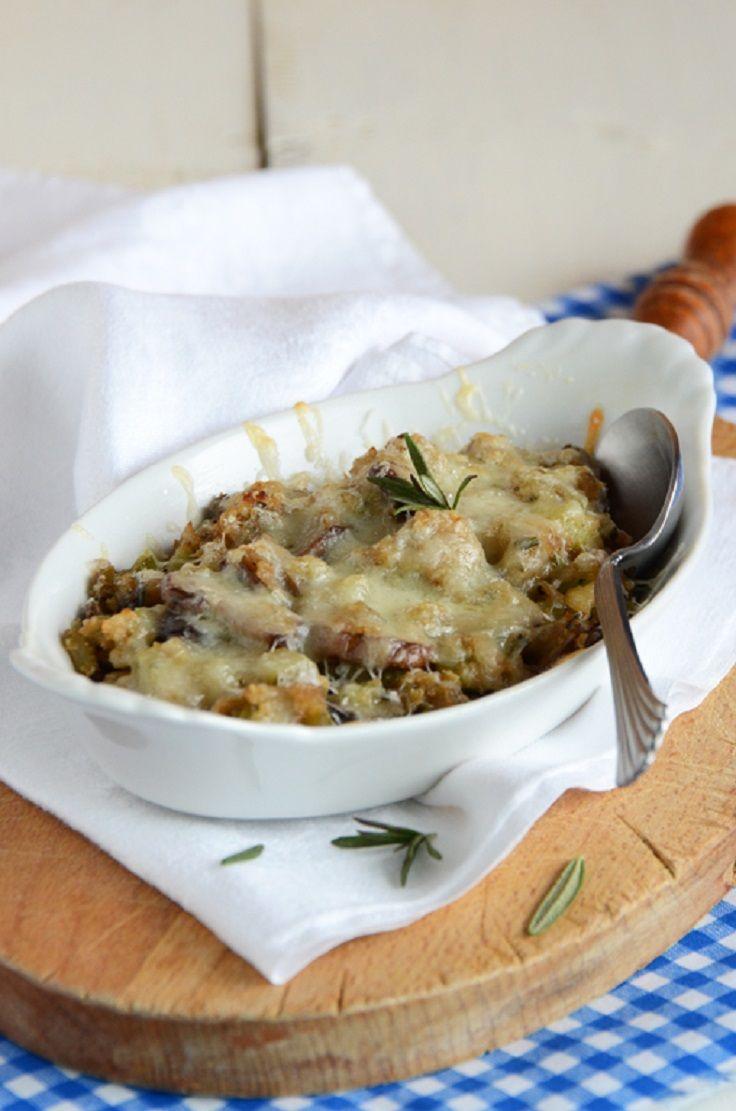 Stuffed Mushroom Casserole | Food | Pinterest