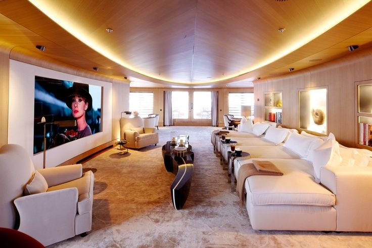 Interiors luxury numptia super yacht luxurious travel pinterest