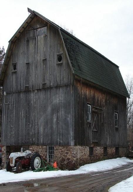 Barn & Tractor #provestra