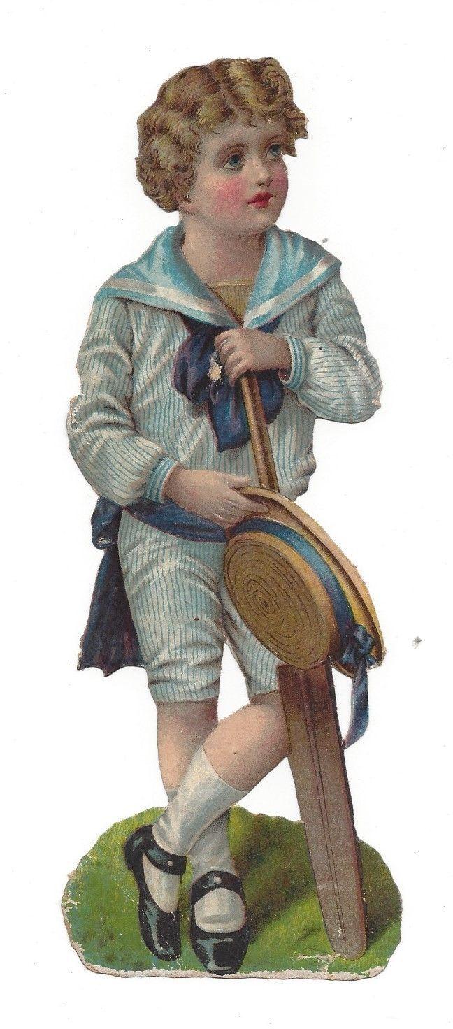 Victorian Boy Scrap