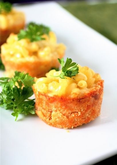 Mini Mac and Cheese Pies | Muffins, pies and quiche | Pinterest