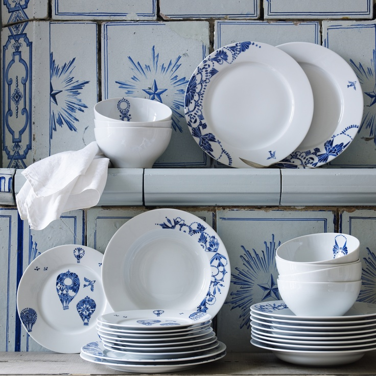 new ikea dinnerware spring 2013 blue white pinterest. Black Bedroom Furniture Sets. Home Design Ideas