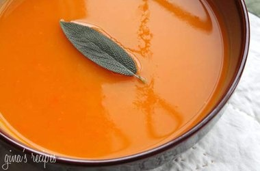 Butternut Squash Soup with Sage | food for the soul! | Pinterest