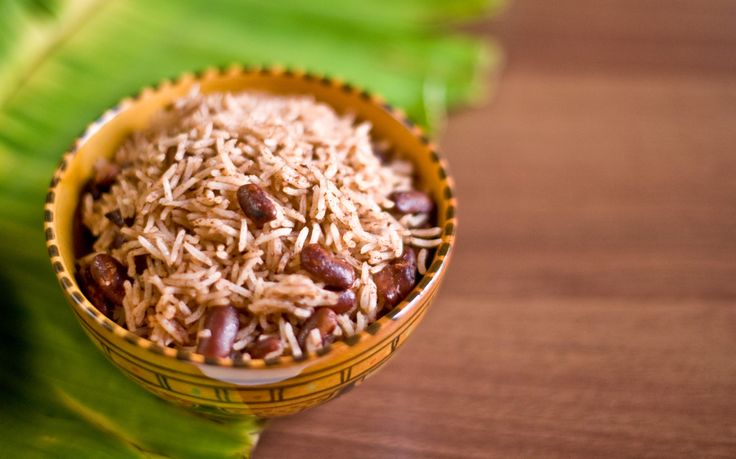 Jamaican red beans and rice | Main dishes | Pinterest