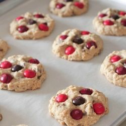 cinnamon m amp m oatmeal chocolate chip cookies this will be the next ...