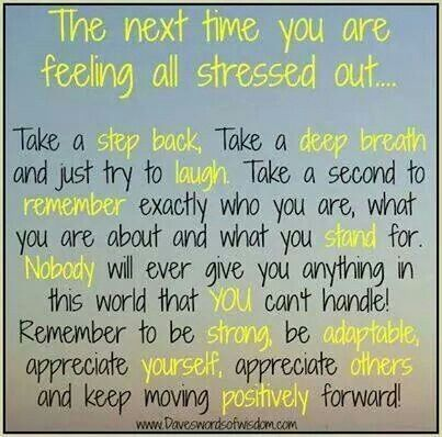 stress soultions quotes humor inspirational pinterest