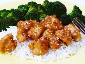 Sesame orange chicken | FOOD (and drinks) | Pinterest