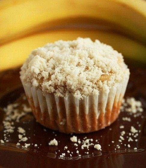 Banana Crumb Muffins... Yum! I'm going to make these tomorrow!