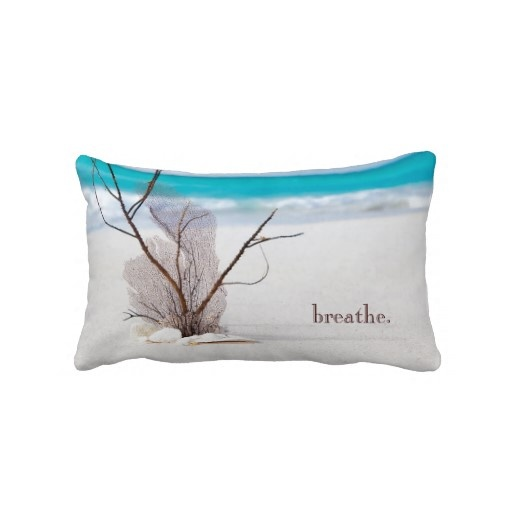Beach Themed Throw Pillow