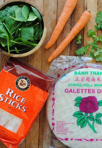 More ingredients for Garlic Chicken Spring Rolls