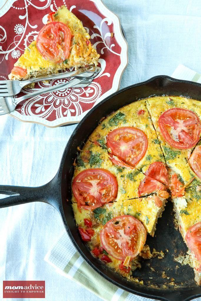 Sausage & Vegetable Frittata | Recipes I Like - Savory | Pinterest