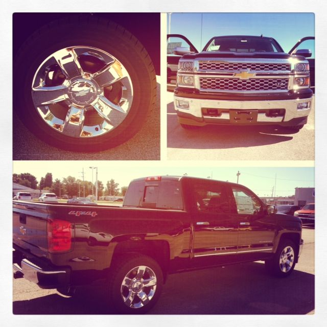 2014 Chevy Silverado 1500 4WD LTZ Crew Cab on our lot! $1,000 trade in ...