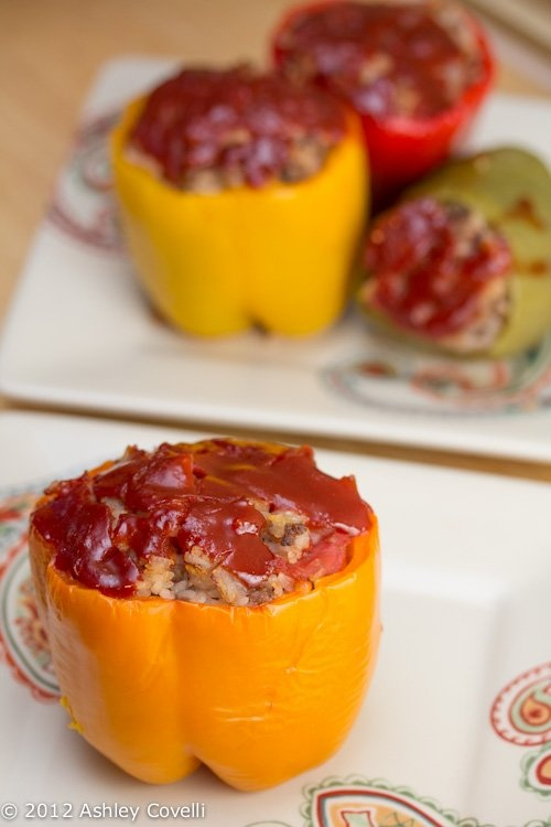 Dad's Stuffed Bell Peppers | Big Flavors from a Tiny Kitchen