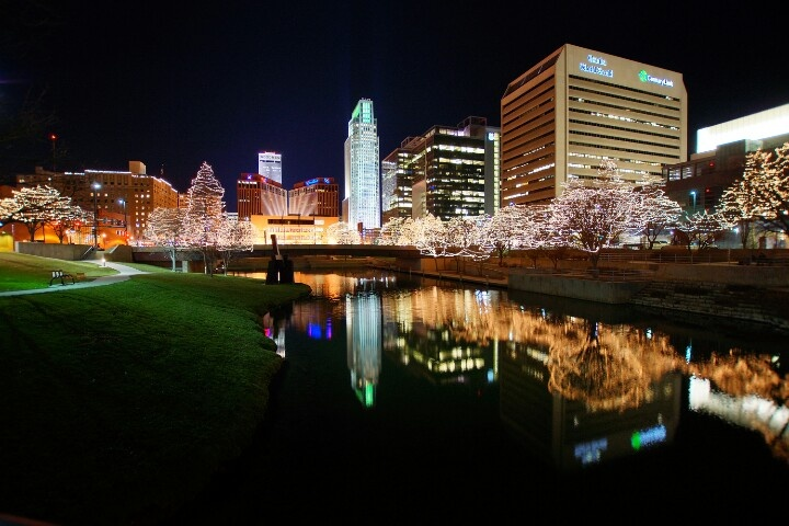 Downtown Omaha from the Gene Leahy Mall. | My Photographs ...