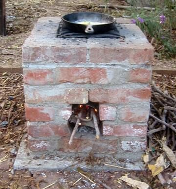 backyard rocket stove outdoor cooking and smoking