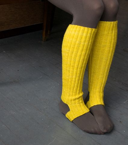 rain boot stirrup socks #knit Knit-wits Pinterest