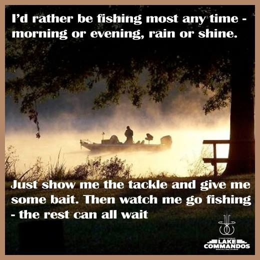 Rather be fishing quotes pinterest