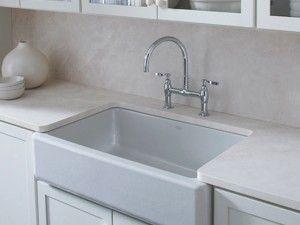 Porcelain Apron Front Sink : porcelain apron sink home Pinterest