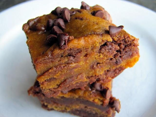 Pumpkin Swirl Brownies | pumpkin recipes | Pinterest