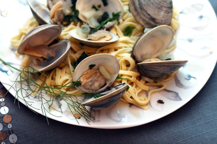linguine with clams and fennel recept yummly clam leek and fennel ...