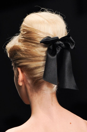 Hair at PPQ| London Fashion Week Fall 2013