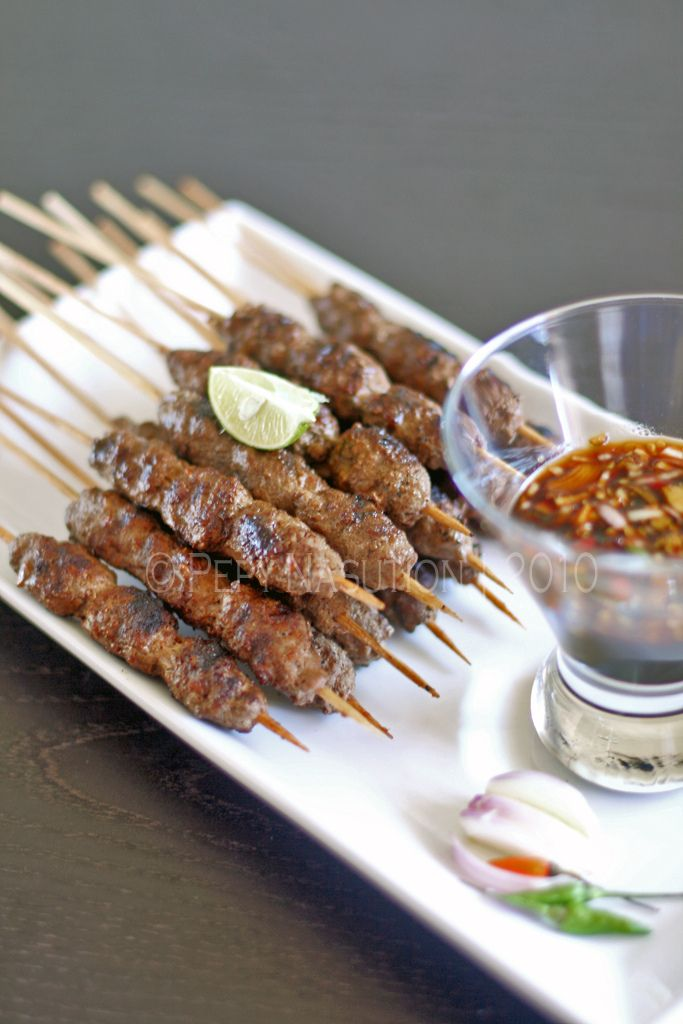 Pentul Indonesian Beef Satay | recipes/cooking | Pinterest