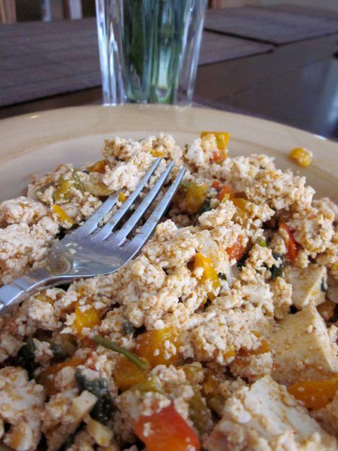 Mexican Tofu Scramble | recipes | Pinterest