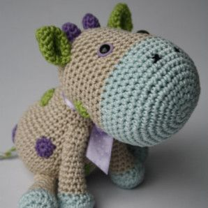 CROCHET COW TOY PATTERN | Vector Patterns