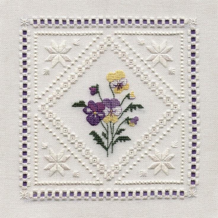 Hardanger embroidery free patterns stitches pinterest