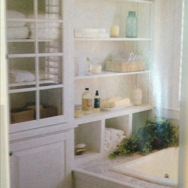 built in shelving in bathroom diy projects