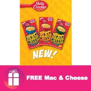 Kroger shoppers will LOVE the FREE Betty Crocker Mac & Cheese they can ...