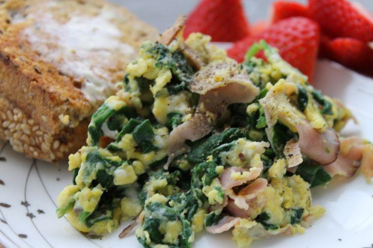 Delicious!) Green Eggs & Ham recipe | Breakfast | Pinterest