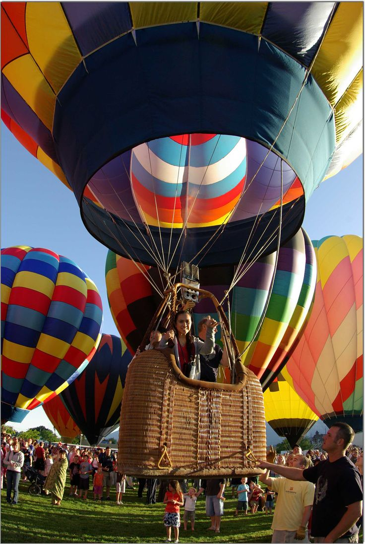 Lots of balloon festivals in Utah - Ogden, Eden, Bluff, Panguitch... #LifeElevated