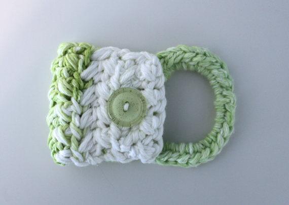 Crochet Kitchen Towel Holder Crochet Pinterest